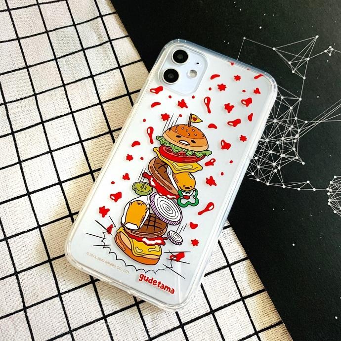 (複製)HongMan|三麗鷗系列 iPhone手機殼套裝組 蛋黃哥 草莓吐司