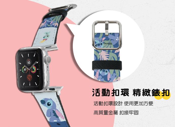 (複製)HongMan|迪士尼系列  Apple Watch 皮革錶帶 經典巴斯 42/44mm