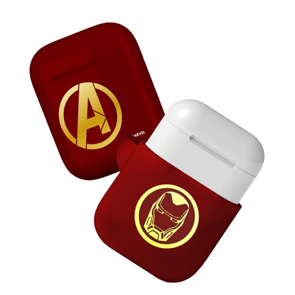 CAMINO|復仇者聯盟AirPods硬式保護套 - 鋼鐵人(紅)