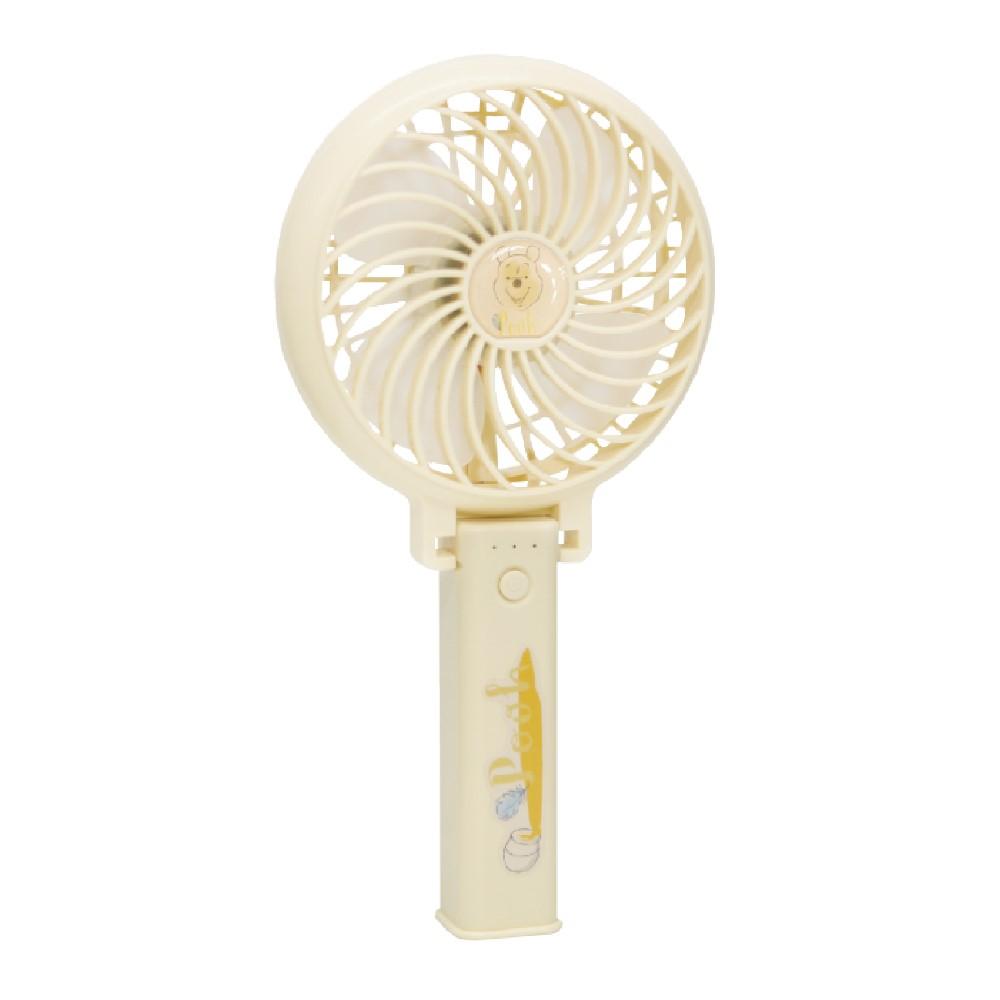 CAMINO | 迪士尼正版授權 手持風扇 USB充電 (小熊維尼)