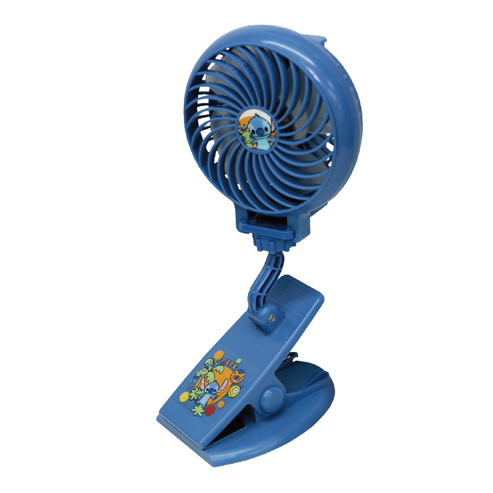 CAMINO|迪士尼正版授權 手持風扇 USB充電 (史迪奇)
