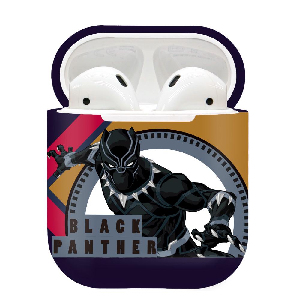 CAMINO 復仇者聯盟 AirPods硬式保護套 黑豹(圖騰款)