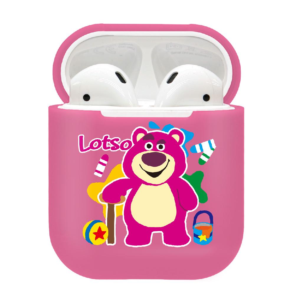 CAMINO|迪士尼正版授權-AirPods硬式保護套 熊抱哥 繽紛彩虹