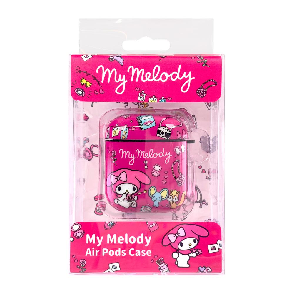 HongMan | 三麗鷗系列 AirPods防塵耐磨保護套 美樂蒂 少女玩具