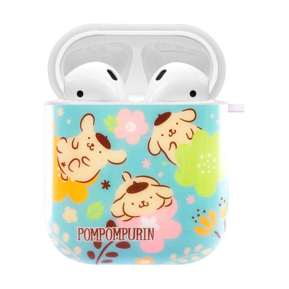 HongMan|三麗鷗系列 AirPods防塵耐磨保護套 布丁狗 花花世界