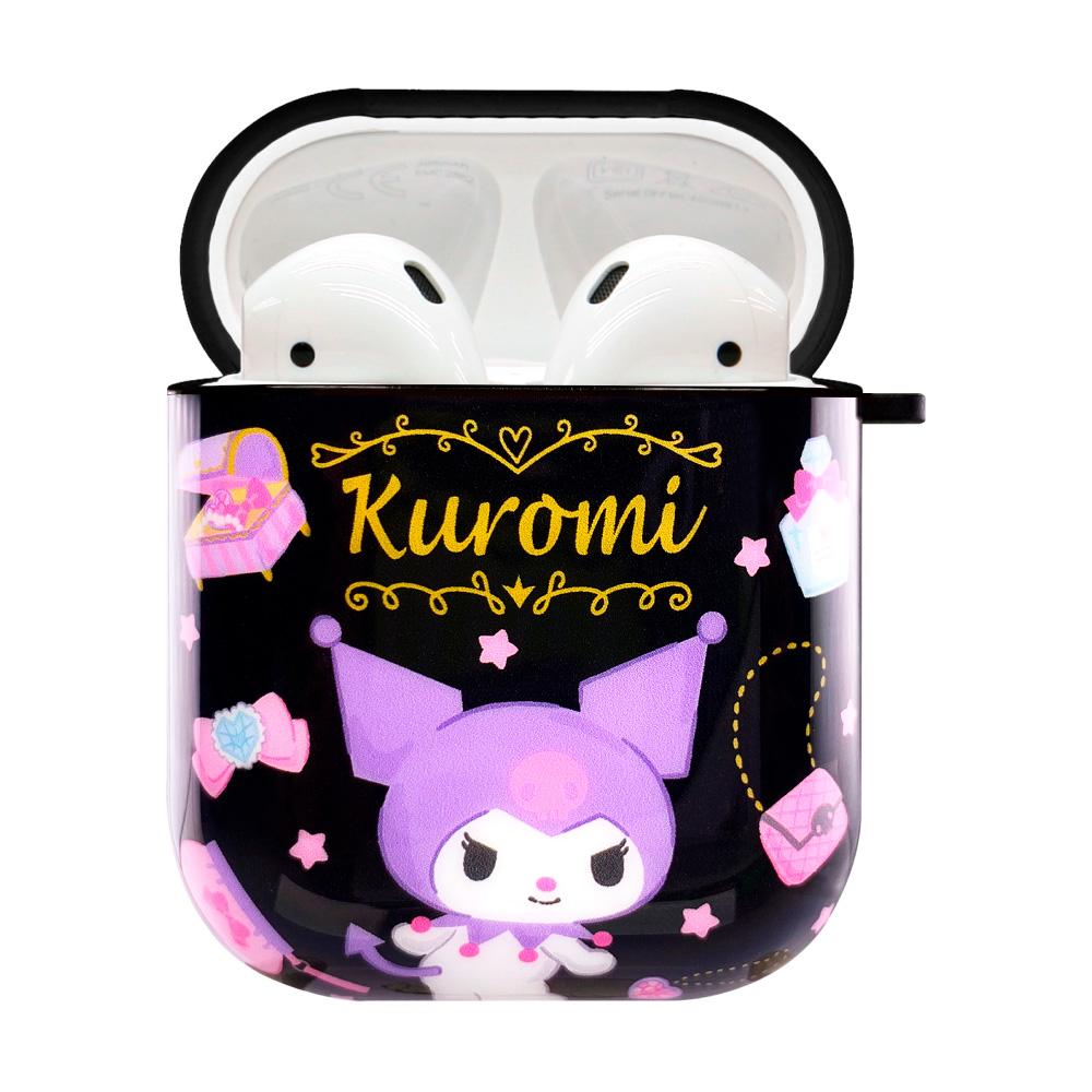HongMan | 三麗鷗系列 AirPods防塵耐磨保護套 酷洛米 少女的珠寶盒