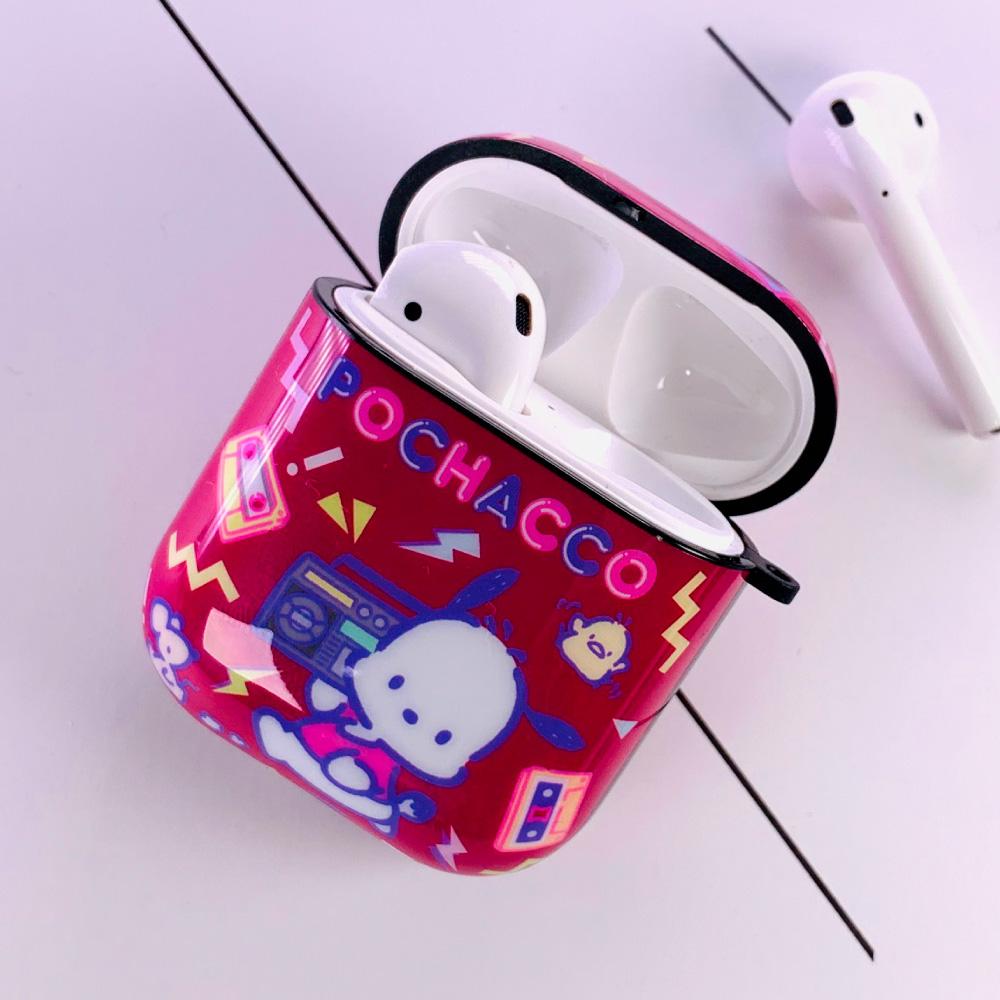 HongMan|三麗鷗系列 AirPods防塵耐磨保護套 帕恰狗 DJ之夜
