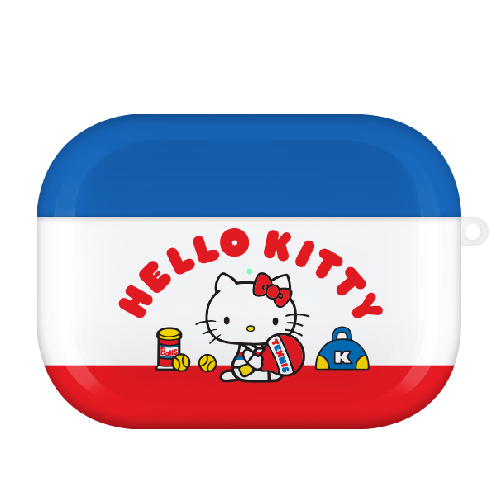 HongMan 三麗鷗系列 Airpods Pro 耳機保護套 凱蒂貓 俏皮網球