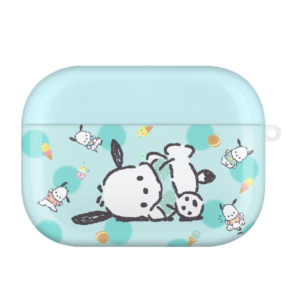 HongMan|三麗鷗系列 Airpods Pro 耳機保護套 帕恰狗 薄荷冰淇淋