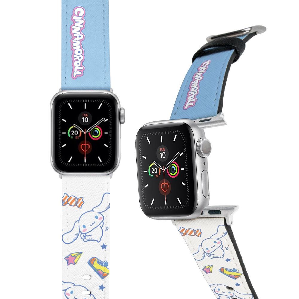 HongMan|三麗鷗系列 Apple Watch 皮革錶帶 大耳狗 42/44mm