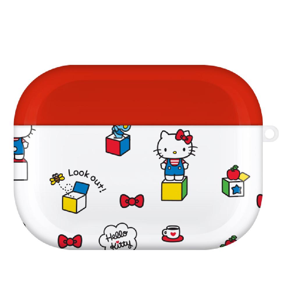 HongMan|三麗鷗系列 Airpods Pro 耳機保護套 凱蒂貓 時光盒子