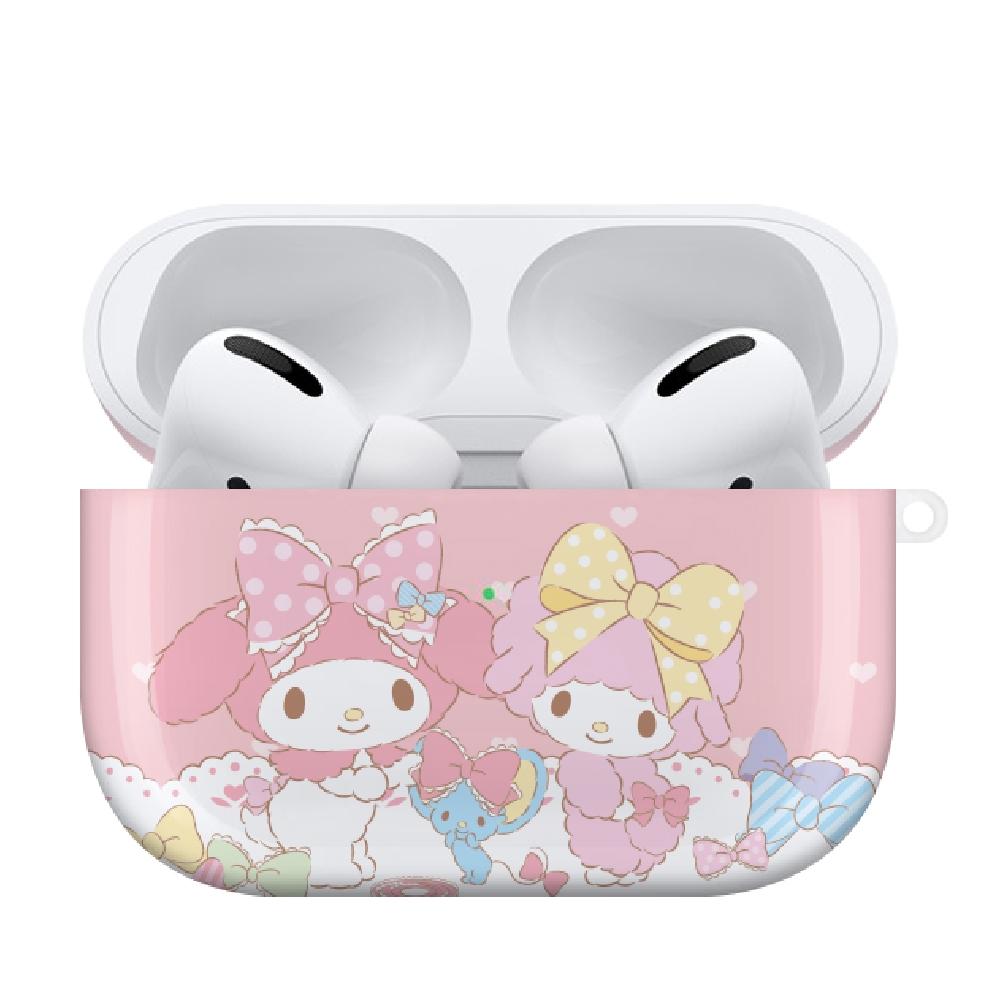 HongMan|三麗鷗系列 Airpods Pro 耳機保護套 美樂蒂 緞帶甜心