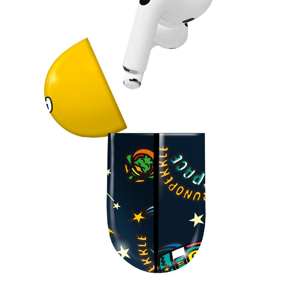 HongMan|三麗鷗系列 Airpods Pro 耳機保護套 貝克鴨 宇宙太空鴨