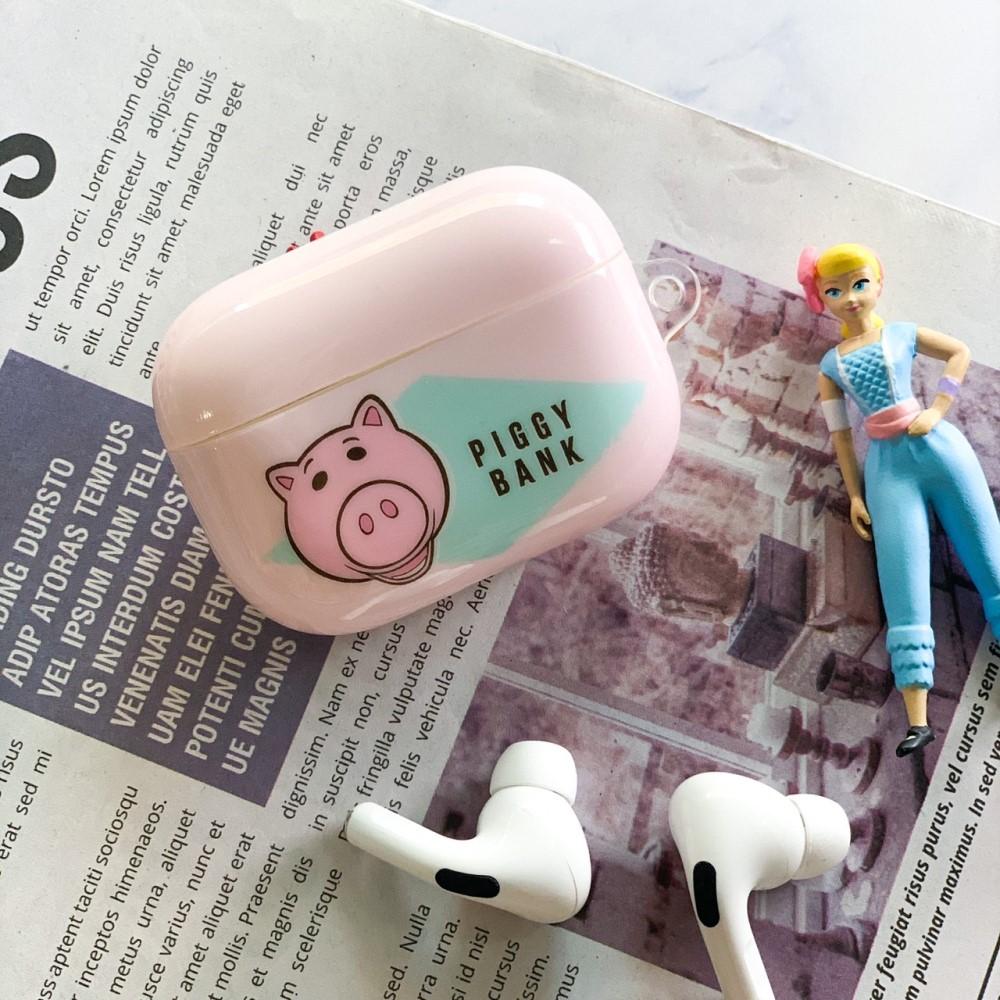 HongMan 迪士尼系列 AirPods Pro 防塵耐磨保護套 火腿豬 Ham