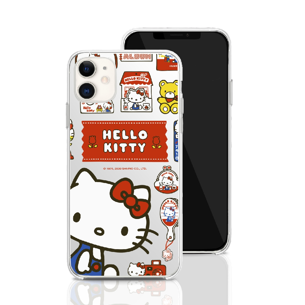 HongMan|三麗鷗系列 iPhone 11 6.1吋 手機殼套裝組  Hello Kitty 百寶箱