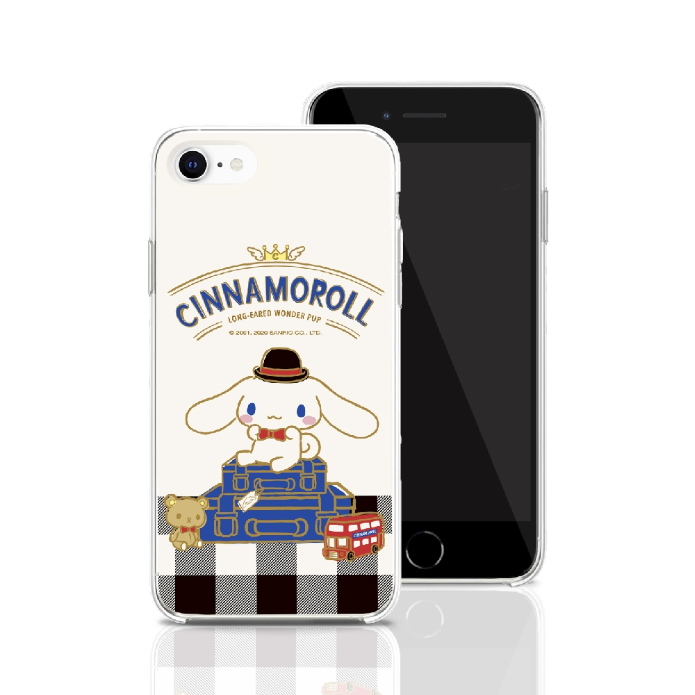 HongMan 三麗鷗系列 iPhone 11 Pro 5.8吋 手機殼套裝組 大耳狗 英式風格