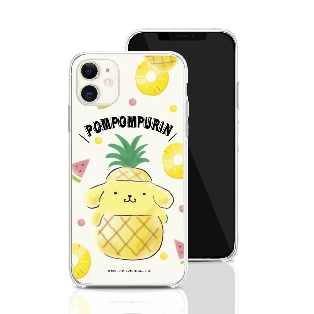HongMan|三麗鷗系列 iPhone 11 Pro 5.8吋 手機殼套裝組 Pompompurin 鳳梨布丁狗