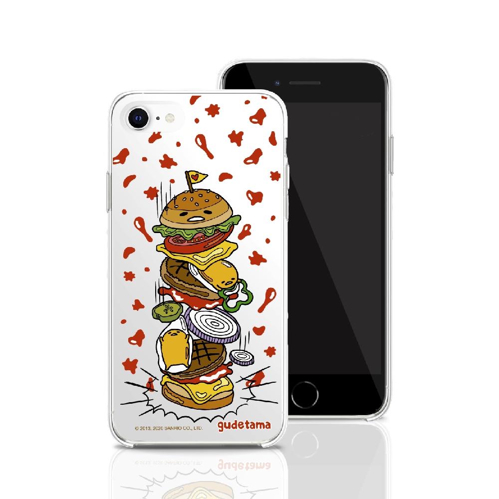 HongMan|三麗鷗系列 iPhone 11 6.1吋 手機殼套裝組 蛋黃哥 千層漢堡