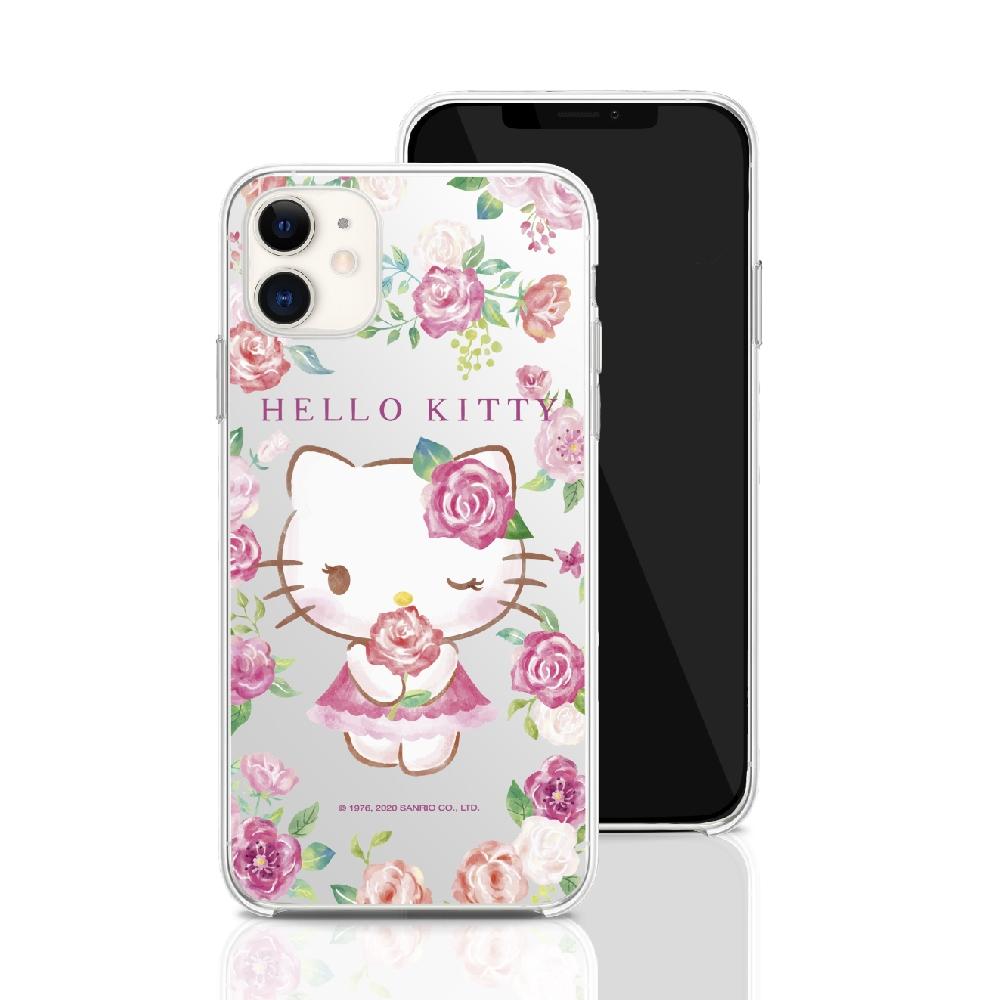 HongMan|三麗鷗系列 iPhone 11 6.1吋 手機殼套裝組 凱蒂貓 ROSE KITTY