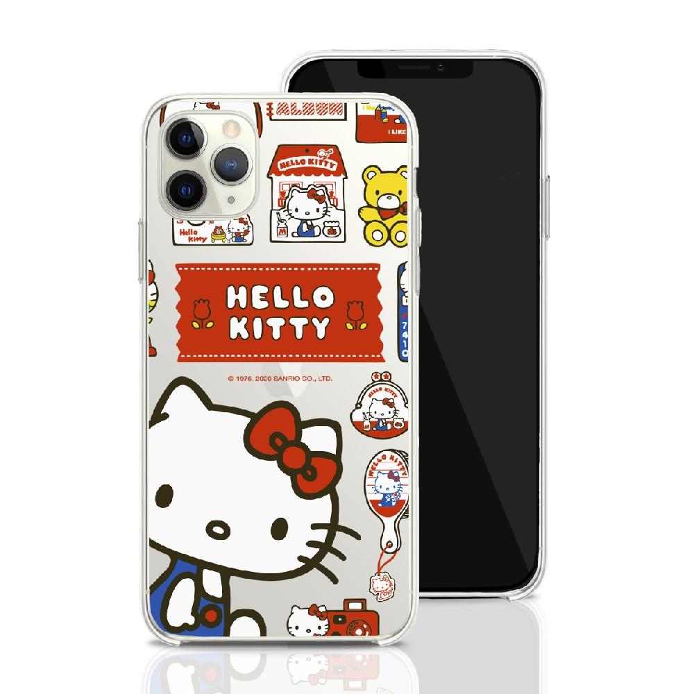 HongMan|三麗鷗系列 iPhone 11 Pro 5.8吋 手機殼套裝組  Hello Kitty 百寶箱
