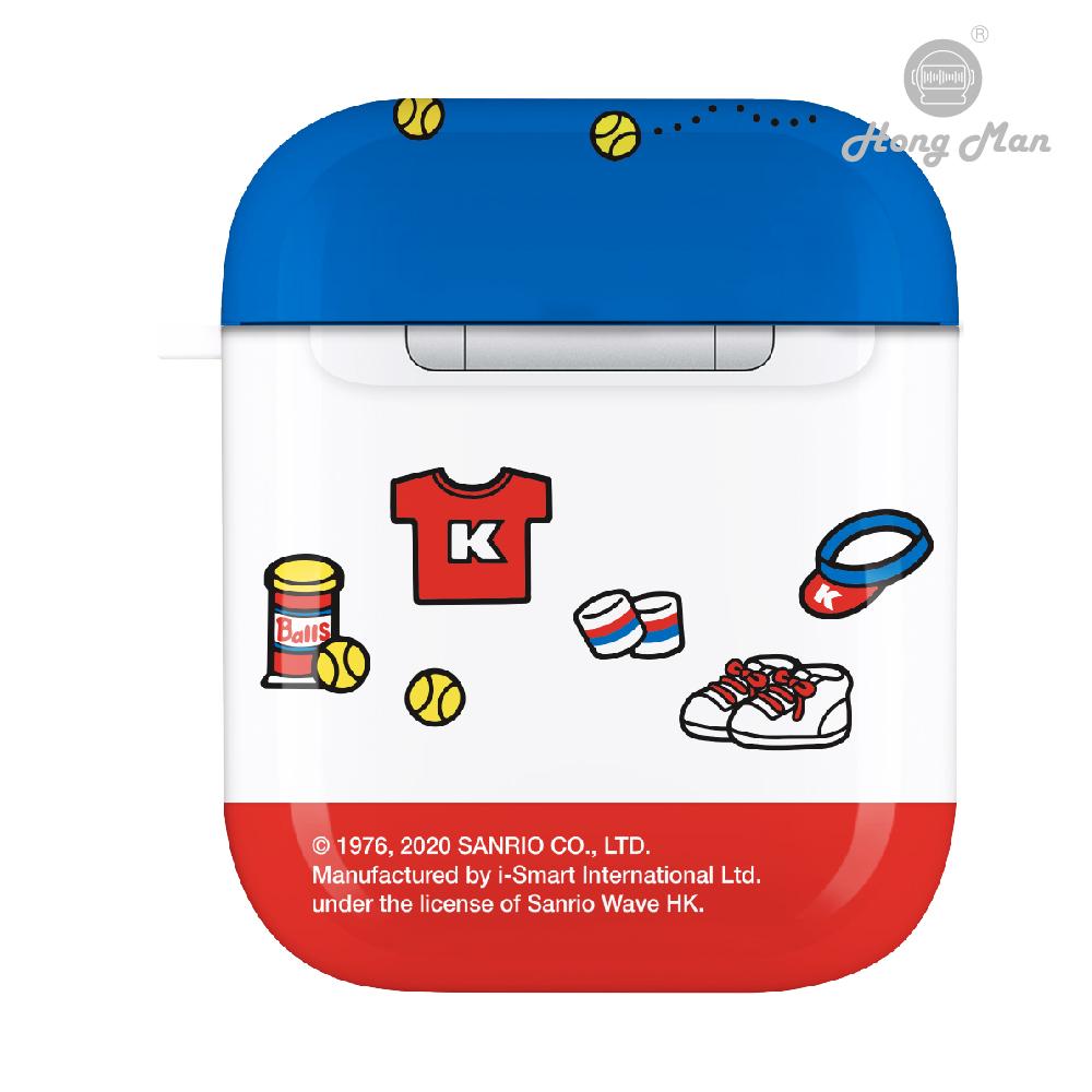 HongMan|三麗鷗系列 AirPods防塵耐磨保護套 Hello Kitty  俏皮網球