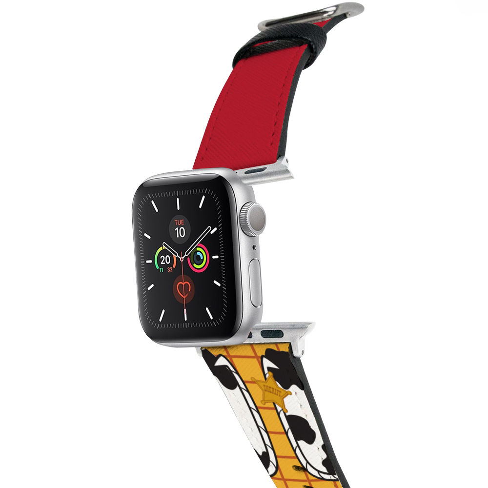 HongMan 迪士尼系列  Apple Watch 皮革錶帶 經典Woody 38/40mm