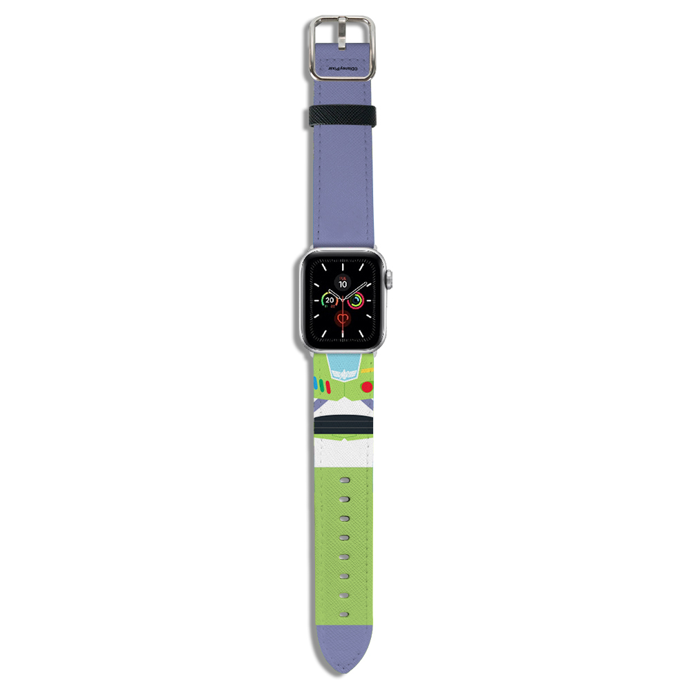 HongMan|迪士尼系列  Apple Watch 皮革錶帶 經典巴斯 42/44mm