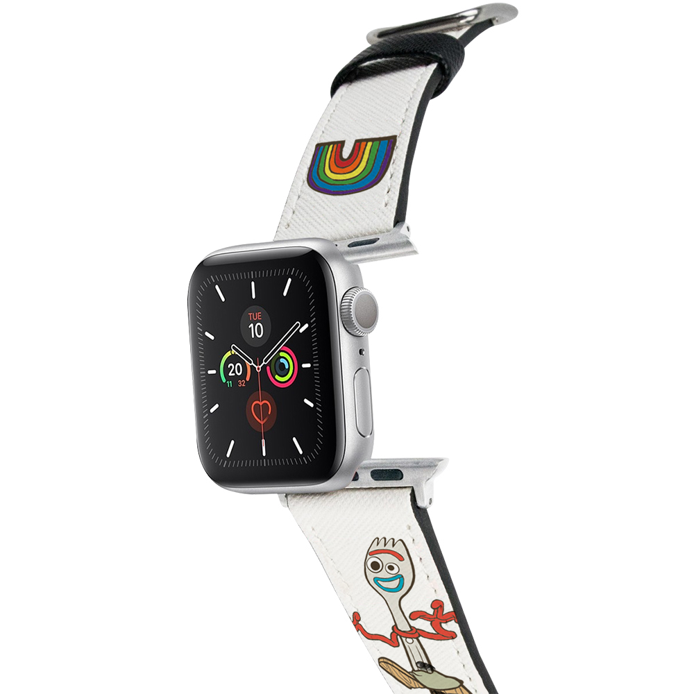 HongMan|迪士尼系列  Apple Watch 皮革錶帶 叉奇Forky 42/44mm