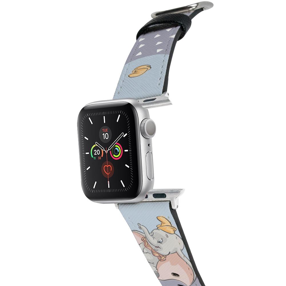 HongMan|迪士尼系列  Apple Watch 皮革錶帶 Dumbo小飛象 42/44mm