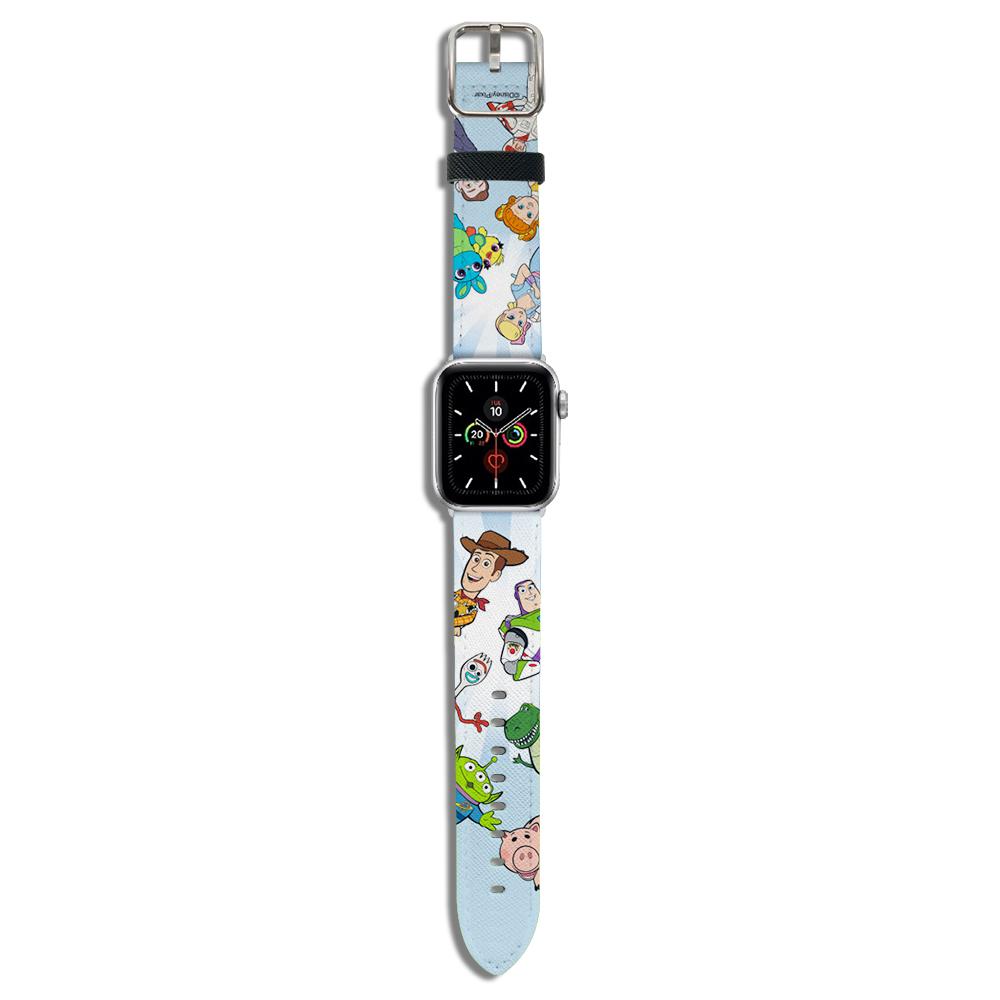 HongMan|迪士尼系列  Apple Watch 皮革錶帶 玩具總動員派對2 42/44mm