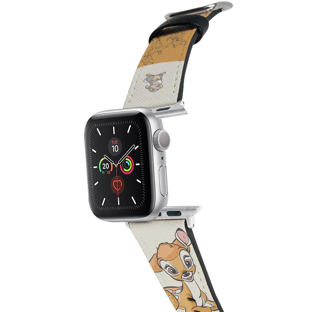 HongMan|迪士尼系列  Apple Watch 皮革錶帶 Bambi小鹿斑比 42/44mm
