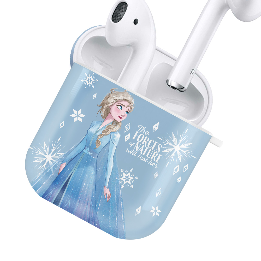 HongMan|迪士尼系列 AirPods防塵耐磨保護套 冰雪奇緣 艾莎