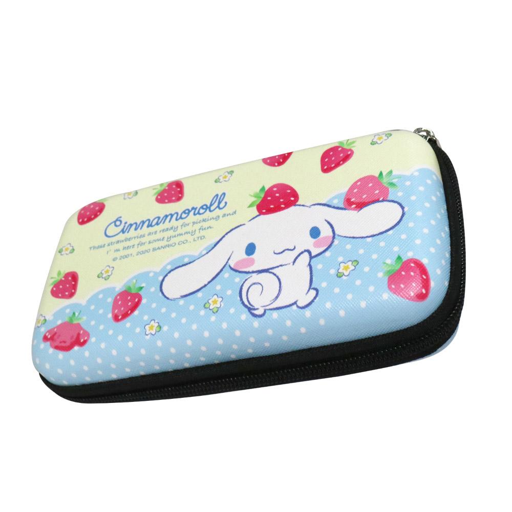 HongMan|三麗鷗系列 硬殼收納包 草莓大耳狗