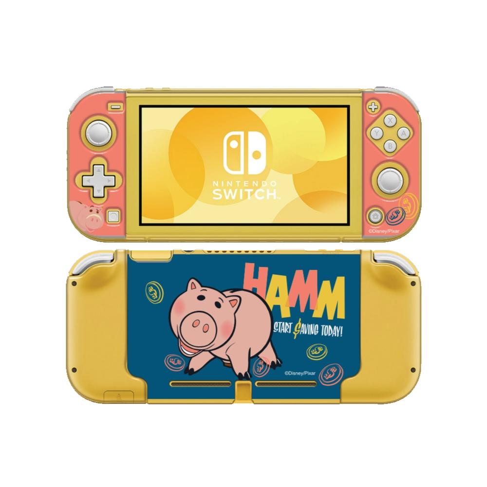 HongMan|迪士尼系列 任天堂Switch Lite保護殼 火腿豬