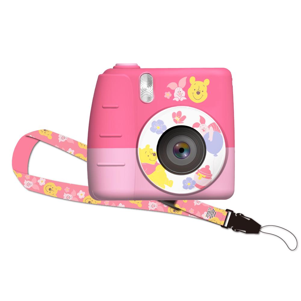 HongMan 迪士尼系列 兒童數位相機 粉萌祭限定 粉粉維尼