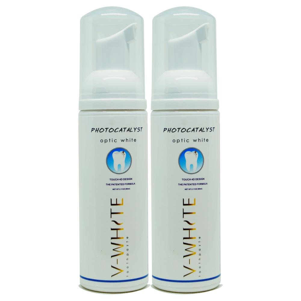 V-WHITE 電動牙刷專用泡沫牙膏-兩入組