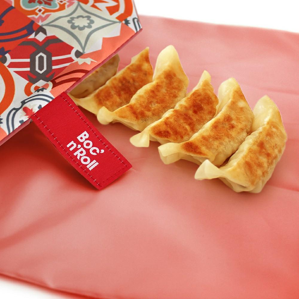 Roll′eat | 西班牙食物袋 搖滾輕食袋-拼布系列(拼布紅)