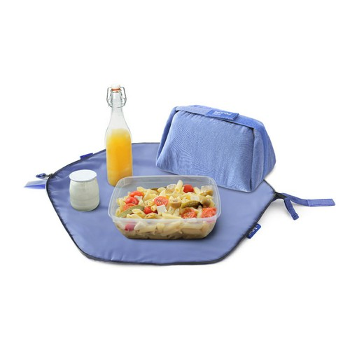 Roll′eat | 西班牙二合一餐袋-馬卡龍系列(莓果藍)
