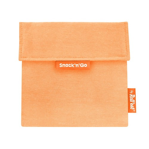 Roll′eat | 西班牙食物袋 吃貨零食袋(M)-馬卡龍(甜橘粉)