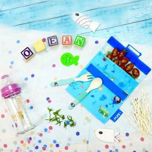 Roll′eat | 西班牙食物袋 吃貨零食袋(s)-海底世界