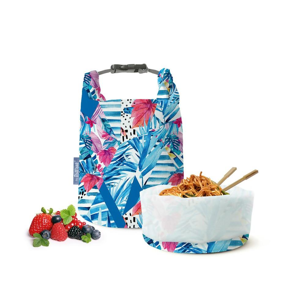 Roll′eat   西班牙食物袋 桶裝食物袋-印花(熱帶叢林)