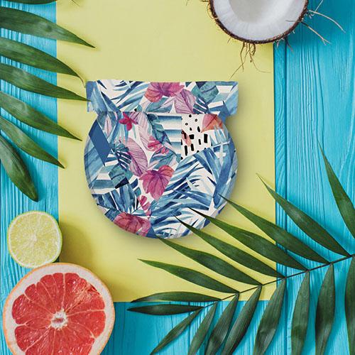 Roll′eat | 西班牙食物袋 桶裝食物袋-印花(熱帶叢林)