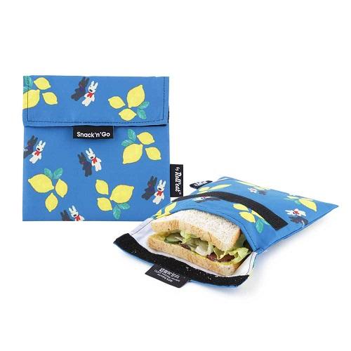 Roll′eat   西班牙食物袋 吃貨零食袋(M)-麗莎和卡斯柏