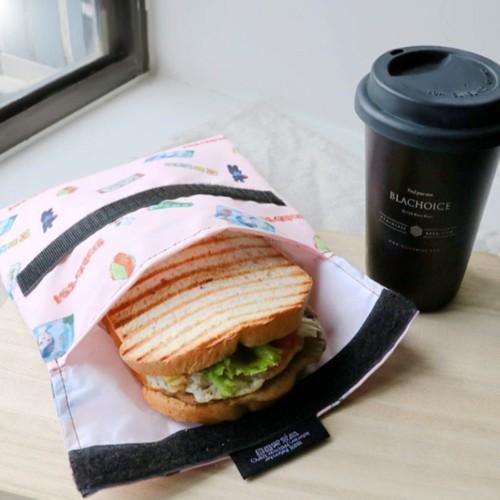 Roll′eat | 西班牙食物袋 吃貨零食袋(L)-麗莎和卡斯柏限量款
