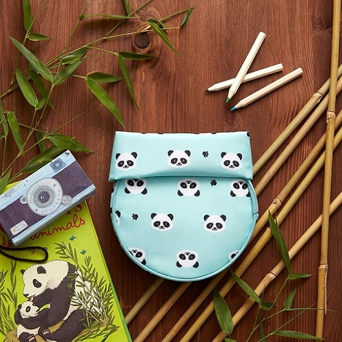 Roll′eat | 西班牙食物袋 桶裝食物袋-可愛熊貓仔