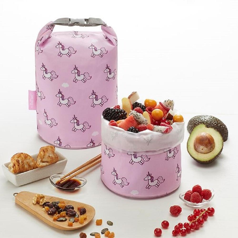 Roll′eat | 西班牙食物袋 桶裝食物袋-夢幻獨角獸