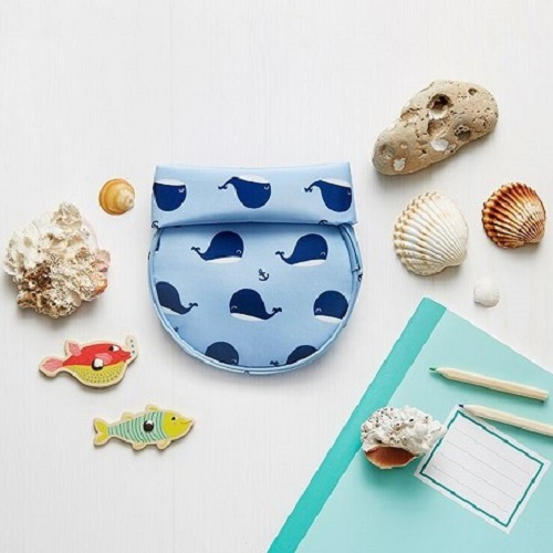 Roll′eat | 西班牙食物袋 桶裝食物袋-悠遊小藍鯨