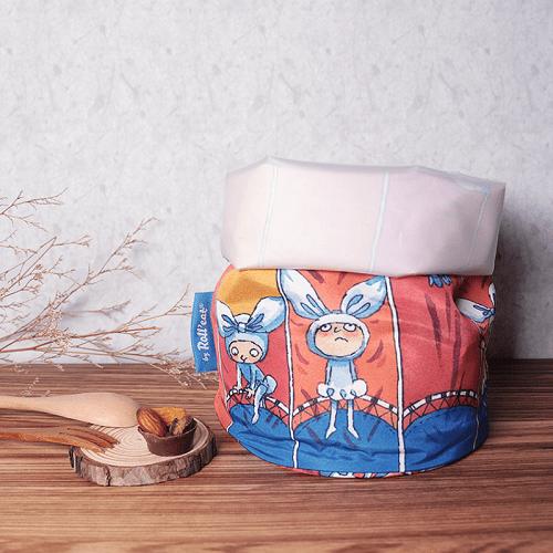 Roll′eat   西班牙食物袋 桶裝食物袋-幾米限量款(小蝴蝶小披風)