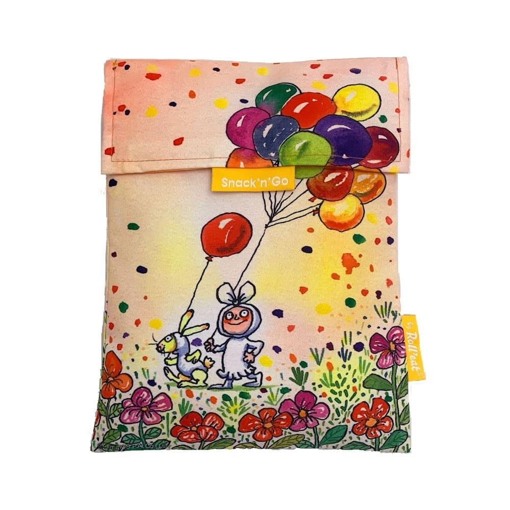 Roll′eat | 西班牙食物袋 吃貨零食袋-尺寸L-幾米(我的心中每天開出一朵花)