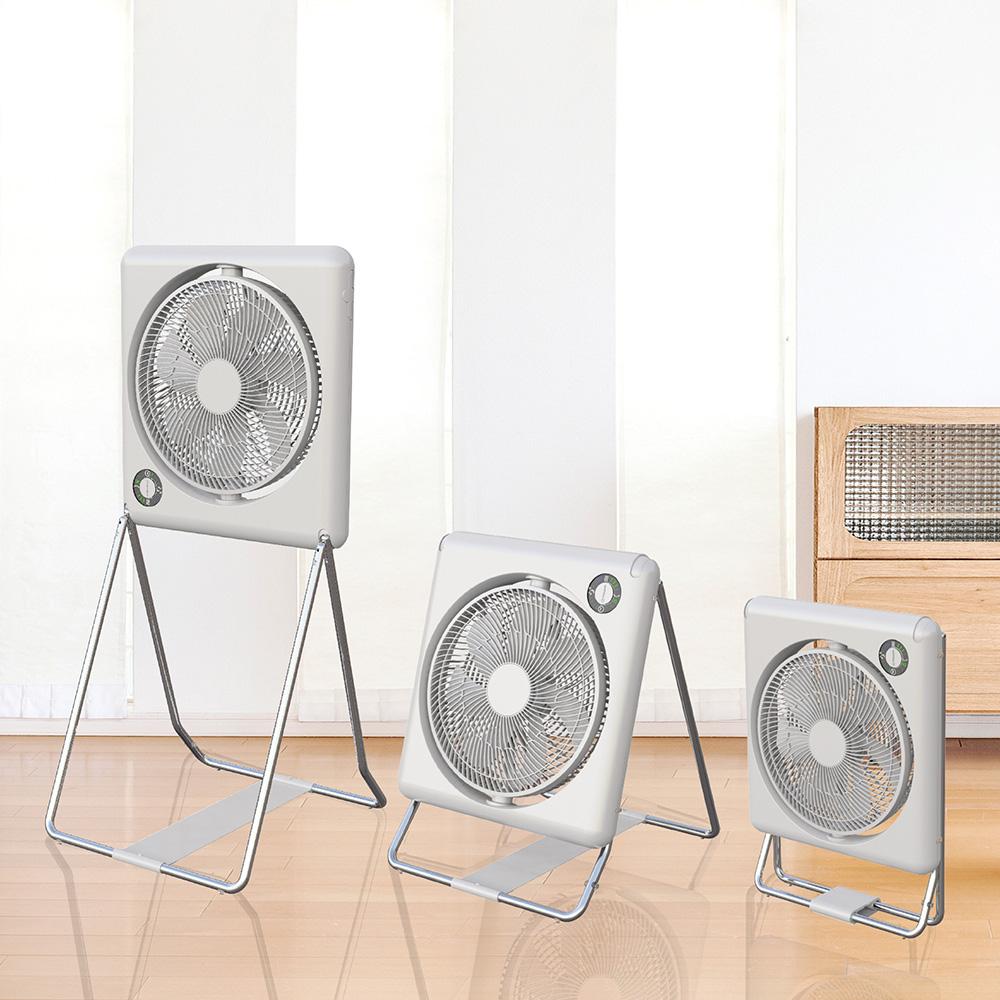 【集購】DOSHISHA|收納變型風扇 FLT-254D WH-白